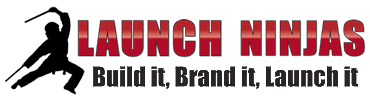 Launch Ninjas, Inc. – Build It, Brand It, Launch It Logo